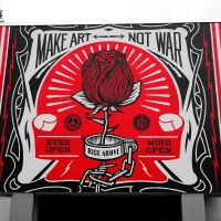 make art - not war!