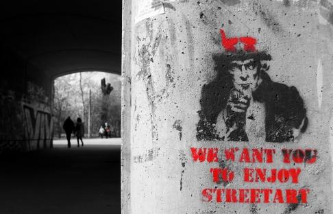 enjoy street art II
